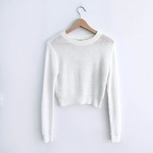 Club Monaco Cropped Sweater - size Small